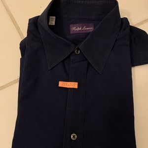 Ralph Lauren Dry Cleaned Casual Button Down